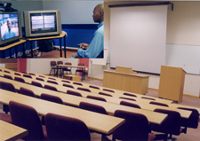The centre offers full conference services, including video